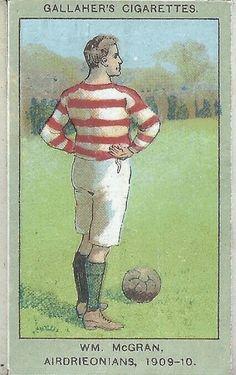WM McGran of Airdrie in 1909-10.