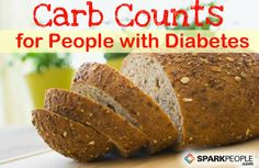 Carbohydrate-Counting Chart for People with Diabetes on SparkPeople, it gives the carb count but not the starch count for the exchange program
