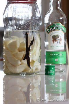 Rhum arrangé poire vanille