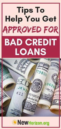 The things you need to know about bad credit loans, most especially if you're planning to apply for one, in the coming months. Best Payday Loans, Best Loans, Need A Loan, Apply For A Loan, Loan Company, Short Term Loans, Mortgage Tips, Credit Check, Credit Score