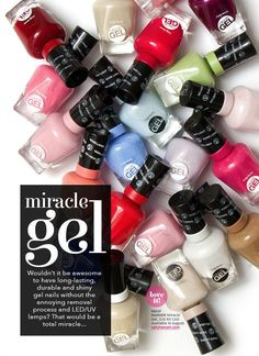 Nail Polish: 50 Sally Hansen Miracle Gel Nail Polish N0 Light Needed, Wholesale Pricing! -> BUY IT NOW ONLY: $66.95 on eBay!