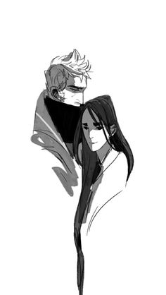nameless and the scientist Character Sketches, Character Illustration, Digital Illustration, Character Art, Character Design, Drawing Expressions, Soul Art, Cool Sketches, Couple Drawings