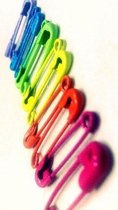 ♥ Colors of the Rainbow Taste The Rainbow, Over The Rainbow, Rainbow Things, Rainbow Stuff, Bold Colors, True Colors, All The Colors, World Of Color, Color Of Life