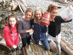 Geocaches are hidden everywhere, often right under our noses! #Geocaching #Friends #Outdoor