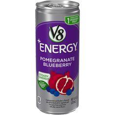 V8 +ENERGY® Pomegranate Blueberry Juice Drinks, Fruit Juice, Pomegranate Mojito, Magnolia Bakery Banana Pudding, Vanilla Pudding Mix, Fanta Can, Fresh Lime Juice, Simple Syrup, Natural Flavors