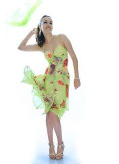Elegant Spaghetti Sheath Printed Mini #Dress #Stylewe