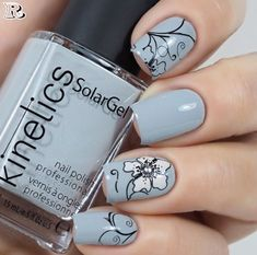 Moyra - 10 Florality 2 - Whats Up Nails Flower Nail Designs, Short Nail Designs, Nail Designs Spring, Nail Polish Designs, Nail Art Designs, Nails Design, Wedding Nail Polish, Nail Polish Stickers, Gel Nails At Home