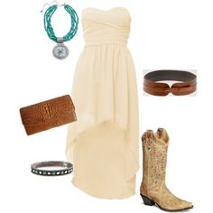 Cowgirl Night Out, created by desiree72180.polyvore.com