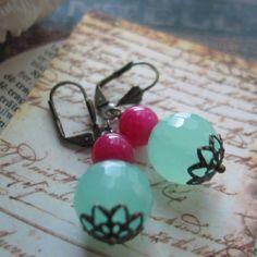 Glass Bead Earrings - make them!