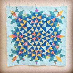 Christine @lopolokko I thought making ...Instagram photo | Websta (Webstagram). Kaleidoscope expanded variation
