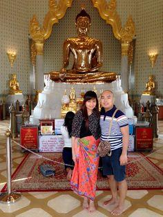 18k Golden Buddha - Bangkok