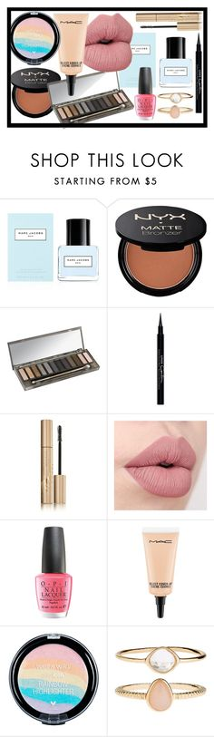 """""""Perfect for a night out"""" by katrine-bulow ❤ liked on Polyvore featuring beauty, Marc Jacobs, Urban Decay, Givenchy, Stila, OPI, MAC Cosmetics and Accessorize"""