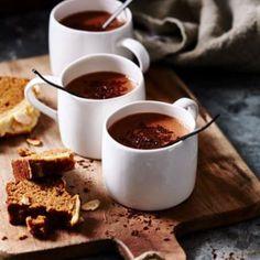 hot cocoa with coconut milk