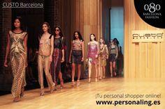 Custo Barcelona, la nueva marca en el catálogo #Personaling y su disfile en el 080 Bcn Fashion