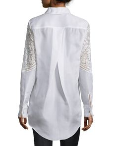 Designer Tops : Velvet & Metallic at Bergdorf Goodman