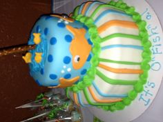 Jaylen's cake we made for his adoption party!