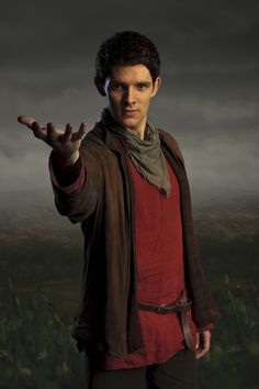 "Merlin S4 Colin Morgan as ""Merlin"""