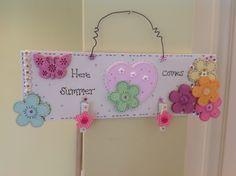 Handmade plaques available with any wording by Muddy Puddles
