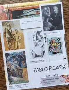 Pablo Picasso Great Art Master Vintage by diamondcloudstudio