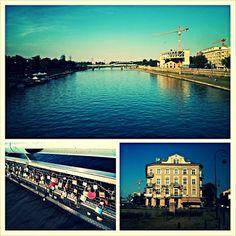 #krakow #collage #summerwalk #lockers