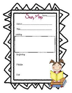 {freebie} story map graphic organizer