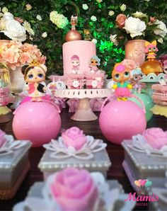 Tema da festa: as bonecas LOL Surprise! - Guia Tudo Festa - Blog de Festas - dicas e ideias!