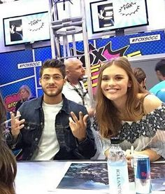 teen wolf, holland roden, and cody christian