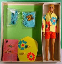 1971 Surf's Up Malibu Ken