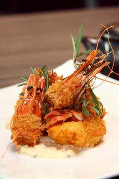 [Food Menu]King Prawn Furai,Hisago Modern Japanese Restaurant,Penang.