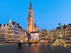 Picture of the Grote Markt Square - Antwerp, Belgium