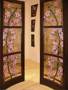 Картинки по запросу роспись стекла витражными красками