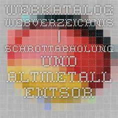 Webkatalog - Webverzeichnis | Schrottabholung und Altmetall Entsorgung Nordrhein Westfalen