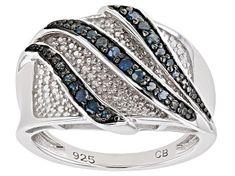 White Diamond 10k Yellow Gold Ring 2.00ctw - RGD022   JTV.com Diamond Rings For Sale, Black Rhodium, Diamond Gemstone, Yellow Gold Rings, Bridge, Gemstones, Sterling Silver, Display, Blue