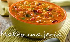 C'est une soupe typique de l'hiver en Tunisie, c'est en quelque sorte une adaptation de la soupe minestrone.    Ingrédients pour makrouna ...