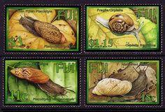 Fiji Land Snails 4v SG#1218/21 - bidStart (item 42478856 in Stamps, Australia & Oceania, Fiji)