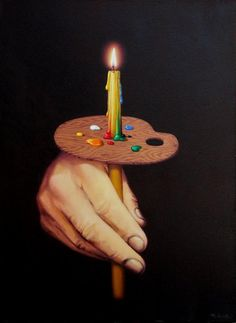 the biography of posterity - Surreal Paintings by Mihai Criste