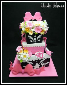 parcel cake awa - claudia behrens by Claudia Behrens ~ Cakes, via Flickr