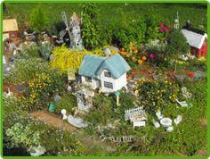 mini gnome village