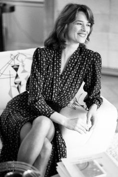 Beauty News: English Actress, Charlotte Rampling Is The New Face Of NARS Cosmetics