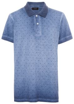 PULL & BEAR PRINT POLO SHIRT