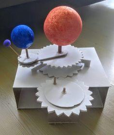 Fen Bilimleri- Güneş, Dünya ve Ay maketi 3D Sistema Solar, Fly Move, Space Solar System, Sun And Earth, Trippy Wallpaper, Science, Four Seasons, Arduino, Astronomy