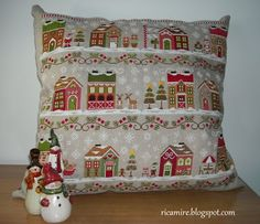 Santa's Village di Country Cottage Needleworks