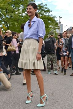 New York Fashion Week Street Style Spring 2014 Part 2 - FLARE