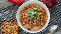 This vegetarian chickpea curry is an easy Indian spin on your slow cooker meal