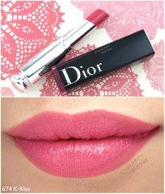 "Dior Addict Lacquer Stick ""674 K-Kiss"": Review and Swatches"