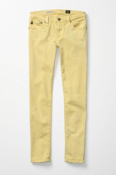 The only brand that fits me without tailoring. I heart AG. These are super sunny for spring.