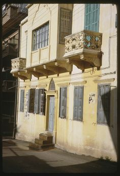 Old Building in #Beirut #Lebanon [1965] | Copyright Charles W. Cushman
