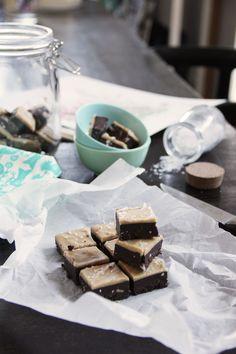 Raw Snicker Fudge - CHOSEFRi raw food sweets.