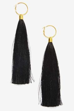 Suzywan Deluxe Aurora Silk Tassel Earrings