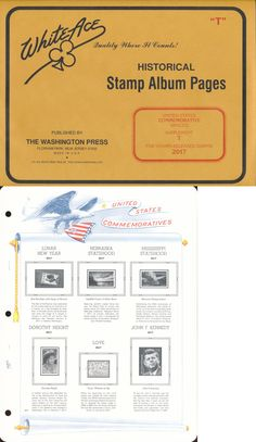 Other Stamp Supplies 705: **Anchor 50 New Stock Pages 7S (7